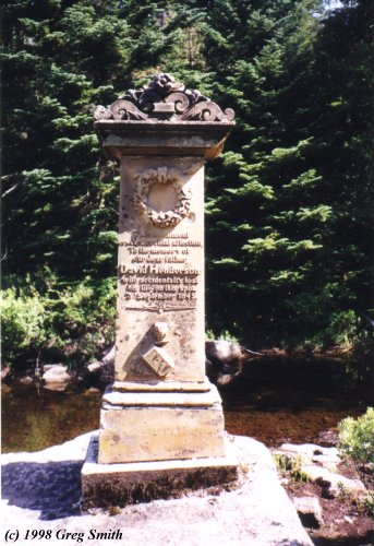 Monument to David  Henderson